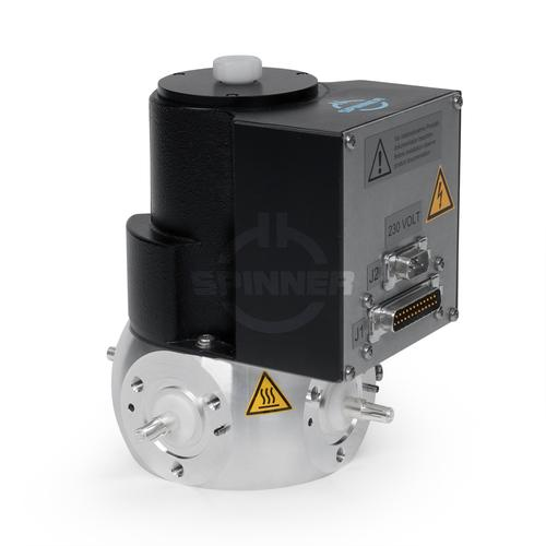 "Coaxial 2-way switch (DPDT) 7.5 kW DC-3.5 GHz 230 VAC 7/8"" EIA product photo Front View L"