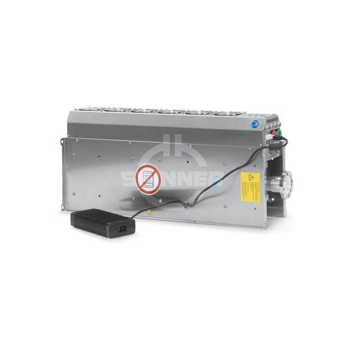 "Coaxial load 5 kW DC-960 MHz 1 5/8"" EIA with fan product photo Front View L"