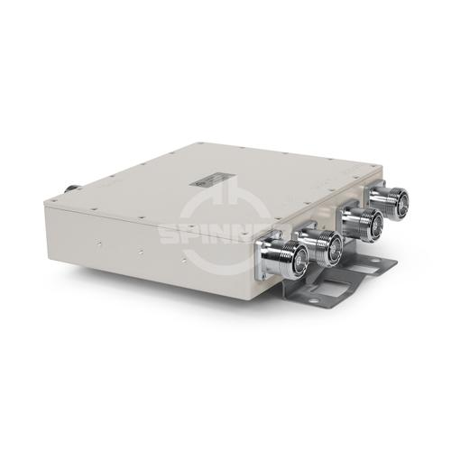 Quadruplexer 700-900/1800/2100/2600 MHz 7-16 female DC all product photo