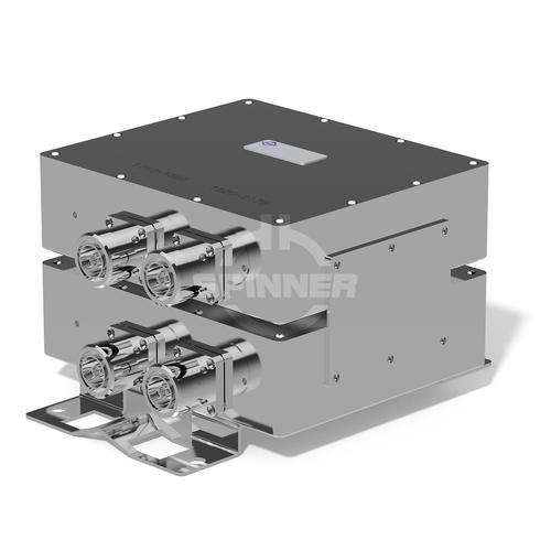 Double diplexer GSM1800 UMTS IP65 7-16 female DC all product photo Front View L