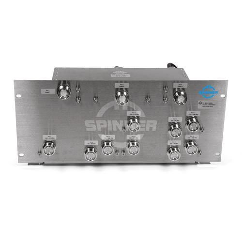 "Multiband combining unit 9:3 130 W 7-16 female for 19"" rack product photo"