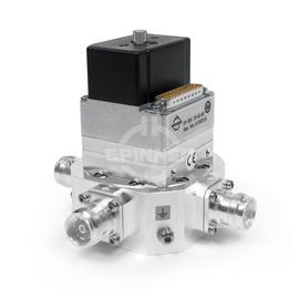 Coaxial 2-way switch (DPDT) 300 W 690-2690 MHz 3.4-3.8 GHz 24 VDC 4.3-10 female low PIM product photo